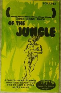 ( Your Name Here ) of the Jungle
