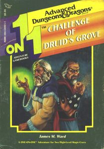 1 on 1 Adventure Gamebooks: Challenge of Druid's Grove
