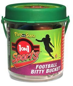 1 on 1 Sports Football Bitty Bucket