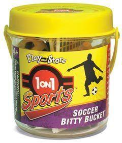 1 on 1 Sports Soccer Bitty Bucket