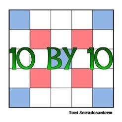 10 by 10