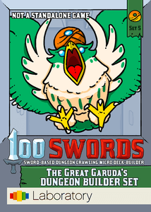 100 Swords: The Great Garuda's Dungeon Builder Set