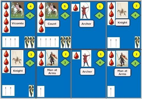 1066: Battle of Hastings Card Game