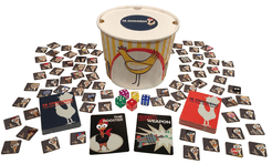16 Chickens Dice Fight to the Death