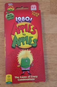 1980s Apples To Apples Snack Pack