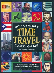 20th Century Time Travel Card Game