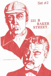 221b Baker Street: The Master Detective Game – Set #2