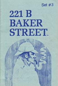 221b Baker Street: The Master Detective Game – Set #3