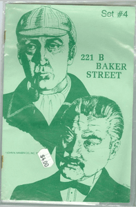 221b Baker Street: The Master Detective Game – Set #4