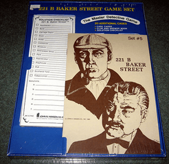 221b Baker Street: The Master Detective Game – Set #5