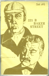 221b Baker Street: The Master Detective Game – Set #6