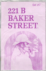 221b Baker Street: The Master Detective Game – Set #7