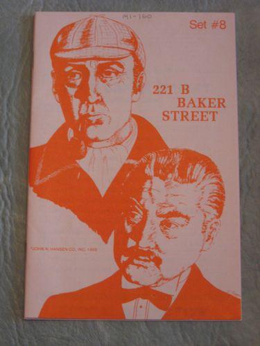 221b Baker Street: The Master Detective Game – Set #8