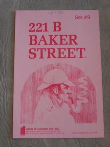 221b Baker Street: The Master Detective Game – Set #9