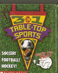3 in 1 Table-Top Sports