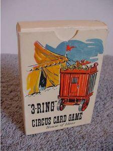 3-Ring Circus Card Game