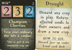 3 Seeds: Reap Where You Sow – Wild / Drought Promo Cards