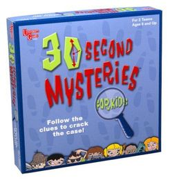 30 Second Mysteries for Kids
