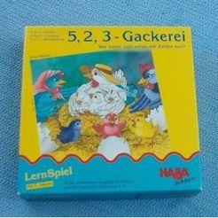 5, 2, 3: Gackerei