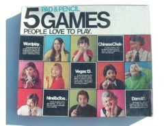 5 Pad & Pencil Games People Love to Play