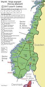 9Apr40:  Norge angrepet!