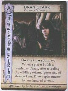 A Game of Thrones: Catan – Brotherhood of the Watch: Bran Stark Promo