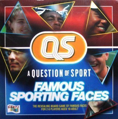 A Question of Sport: Famous Sporting Faces