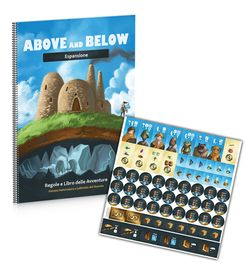 Above and Below: Desert Labyrinth and Underforest Encounter Book
