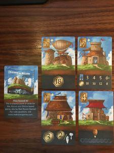 Above and Below: Megaland Bonus cards