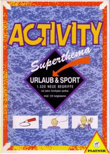 Activity Superthema Urlaub & Sport