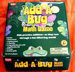 Add A Bug Math Game