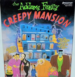 Addams Family Creepy Mansion Action Game