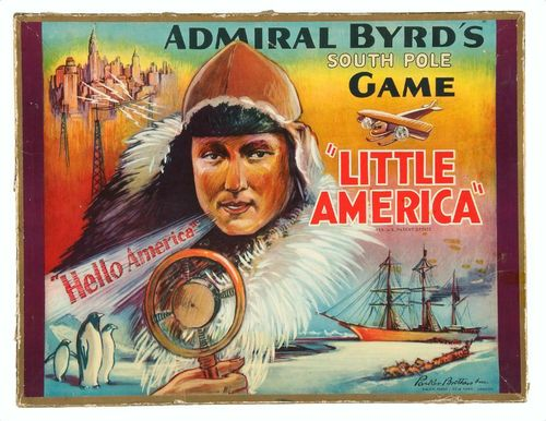 Admiral Byrd's South Pole Game 'Little America'