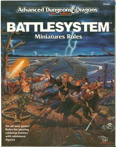 Advanced Dungeons & Dragons Battlesystem (second edition)