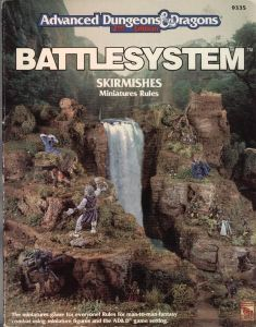 Advanced Dungeons & Dragons Battlesystem Skirmishes