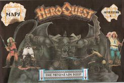 Adventure 1: The Mountain Keep (fan expansion to HeroQuest)