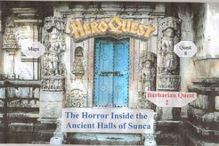 Adventure 8: The Horror Inside the Ancient Halls of Sunca (fan expansion to HeroQuest)