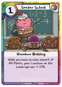 Adventure Time Card Wars: Sundae School