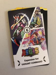 A.E.G.I.S. Combining Robot Strategy Game: Variant Command Expansion Set