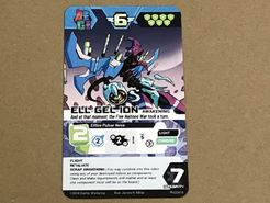 A.E.G.I.S.: Combining Robot Strategy Game – Ell Gel Ion Promo Card