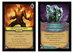 Aeon's End: Tabletop Day 2017 Promos – Drown in Flames / Glyph Enigma