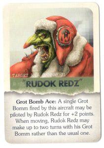 Aeronautica Imperialis: Wings of Vengeance – Rudok Redz Promo Card