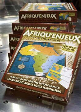 Afriqu'enjeux: The Africa Memory Game