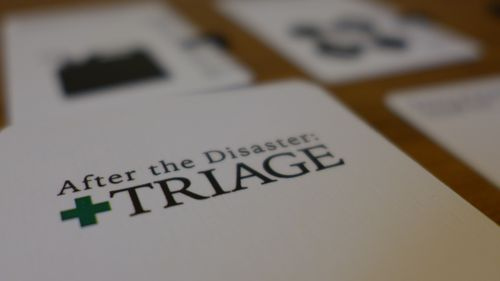 After the Disaster: Triage