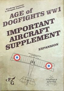 Age of Dogfights WWI: Important Aircraft Supplement