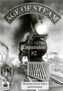 Age of Steam Expansion #2: Western United States and Germany