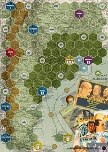 Age of Steam Expansion: Argentina / The French Riviera