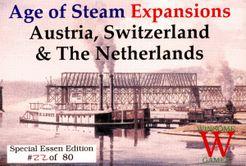 Age of Steam Expansion: Austria, Switzerland & The Netherlands