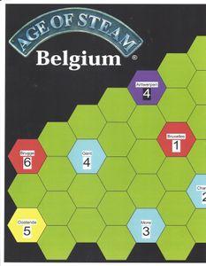 Age of Steam Expansion: Belgium