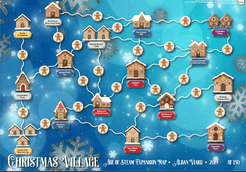 Age of Steam Expansion: Christmas Village / Mexico